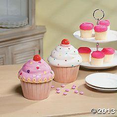 cupcake trinket & baubles holder