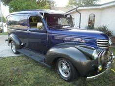 1941 chevy Panel