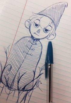 Warming there is going to be a lot of over the garden wall fan art coming soon so here is so Wirt for now