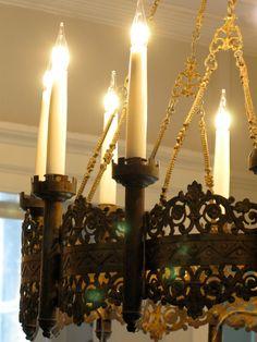 19th century Gothic chandelier