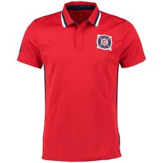 Adidas pour homme Sideline Team Couleur Polo, Homme, Red