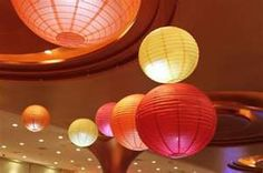 Wedding Inspirations: Decorating with Paper Lanterns