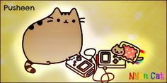 The original image: [link] Anyway, I Pusheen and Nyan Cat, so when I saw this picture, I j. Pusheen and Nyan Cat