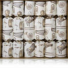 Our Big Band crackers will look amazing on any Christmas table!