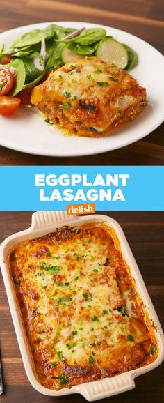 Eggplant LasagnaDelish