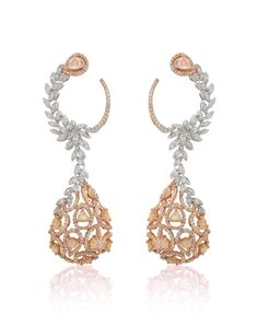 Diamond Solitaire Earrings H I – Modern Jewelry Diamond Jewelry, Gold Jewelry, Jewelry Accessories, Fine Jewelry, Jewelry Design, Vintage Jewelry, Jewelry Making, India Jewelry, Jewelry Tree