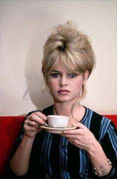 Brigitte Bardot in Jean-Luc Godard's Le Mépris (Contempt), 1963. Cinematographer Raoul Coutard.