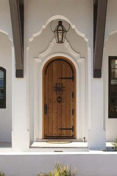 23 Trendy Ideas For Exterior Stairs Design Front Entry Spanish House, Spanish Style, Spanish Colonial, Front Entry, Entry Doors, Entrance, Door Entryway, Door Design, House Design