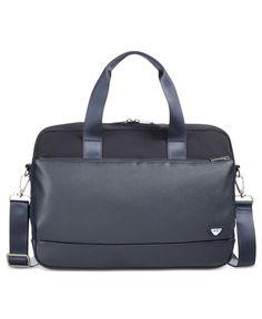 a94d94c46c24 Armani Jeans Men s Codice Briefcase   Reviews - All Accessories - Men -  Macy s
