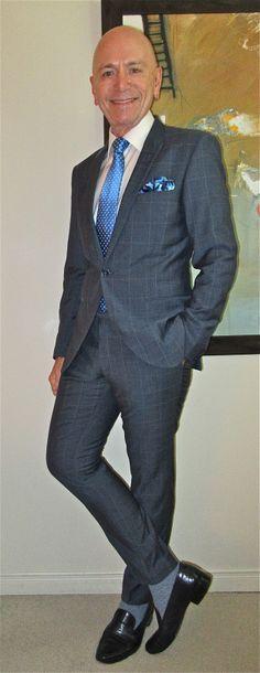 Tiger Of Sweden suit, Hudson Room shirt, Ralph Lauren tie, Deerskin Trading Post…