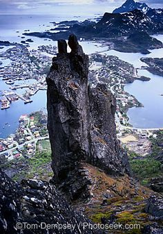 Svolvaer, lofoten islands, North of the Arctic Circle. The Svolvaer Goat. Rises to 1955 feet Lofoten, Beautiful Norway, Places In Europe, Arctic Circle, Natural Phenomena, Future Travel, Beautiful Places, Amazing Places, Natural Wonders
