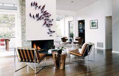 beautiful lounge chairs  photography - Joe Schmelzer