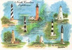 North Carolina Lighthouses. Beautiful.