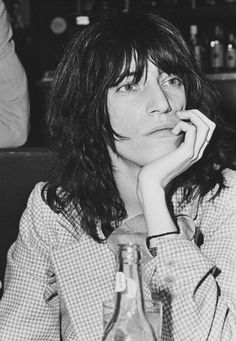 """Patti Smith photographed by Jorgen Angel.   """