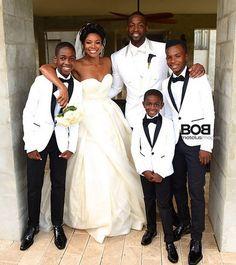 Dwyane Wade & Gabrielle Union Wedding Photos   Photo 1   TMZ.com