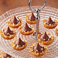 Chocolate-Almond Tartlets - The Pampered Chef®
