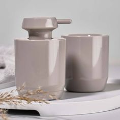 Buy Zone Denmark Suii Soap Dispenser Now at Dotmaison. Quality designer homewares & Free UK delivery over Japanese Minimalism, Soap Dispensers, Bathroom Collections, Toilet Brush, Danish Design, Denmark, Keep It Cleaner, Taupe, Household