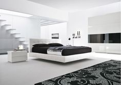 Móveis de Quarto modernos e decoração de interiores.