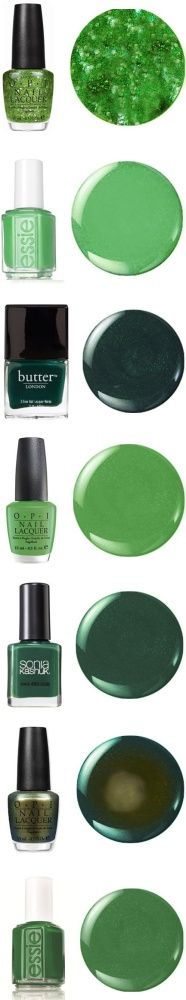 What's your fave shamrock-inspired shade?