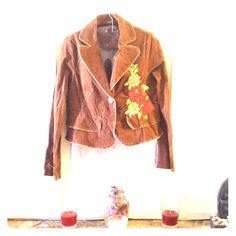 Flowers event A nice jacket , classic, that keep u hot and worm , 97% cotton, 3% spandex , never wasted in use. Event Jackets & Coats