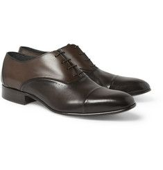 e7af3a894fd16 Lanvin Leather Oxford Shoes Mens Designer Shoes