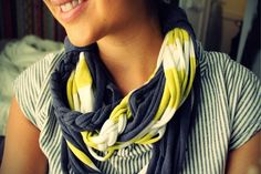 Wrap It Up: Make These 5 DIY Scarves