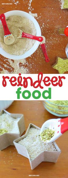 Reindeer Food. A step by step tutorial of how kids can make reindeer food for Santa and his reindeer this Christmas.