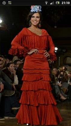 Flamenco Costume, Flamenco Dresses, Fashion Moda, Ruffles, Vintage Fashion, Costumes, Edwardian Dress, Seville, Inspiration