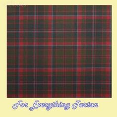 Cumming Hunting Weathered Tartan 10oz Wool Fabric Lightweight Swatch  by JMB7339 - $25.00