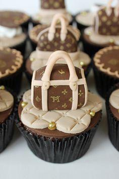 Luis Vuitton Cupcakes by Isa Herzog