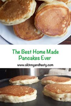 You searched for the best homemade pancakes - Skinny & Tasty Recipes Breakfast Desayunos, Breakfast Items, Breakfast Dishes, Breakfast Recipes, Mexican Breakfast, Pancake Recipes, Breakfast Sandwiches, Waffle Recipes, Best Homemade Pancakes