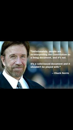 I don't always agree with Chuck but, when i do, I agree with this statement.