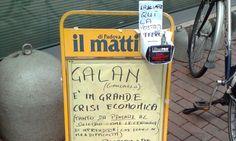All'edicola spunta una cassetta delle offerte per Galan - Cronaca - Il Mattino di Padova