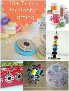 10+ ways to keep your bobbins under control | patchworkposse | easy sewing projects and free quilt tutorials