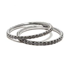 Pair is the best Gifts For My Girlfriend, Black Diamond, Special Gifts, Jewerly, Best Gifts, September, Bands, Silver Rings, My Style