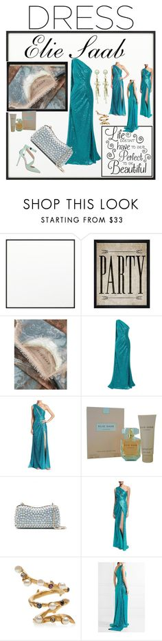 """Elie Saab"" by georgine-d ❤ liked on Polyvore featuring By Lassen, Hatcher & Ethan and Elie Saab"