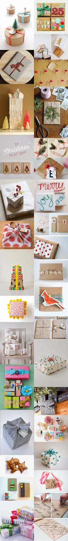 31 amazing gift wrapping ideas