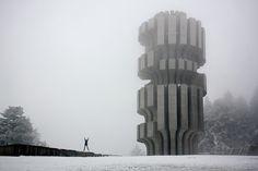 Kozara, Bosnia Bosnia, Monuments, Pisa, Abandoned, Tower, Exterior, Architecture, Building, Travel