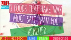 13 Foods That Have Way More Salt than You Realized - YouTube