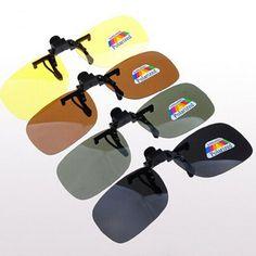 3e4e7bd6f41 High quality Polarized Clip On Sunglasses Sport Driving Night Vision Lens Sun  Glasses Anti-UVA Women Men Oculos Gafas De Sol