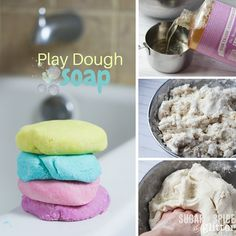 How to make play dough soap - the most fun way to get clean!