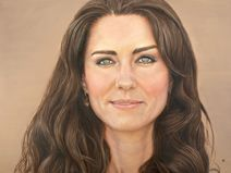Pastel 100 award-winning artist David Wells, of Australia, has painted a portrait of Kate Middleton, the Duchess of Cambridge, that has been accepted into the Royal Collection at Kensington Palace as a gift from his home town of Maccleay Island. Duchess Kate, Duke And Duchess, Duchess Of Cambridge, Princess Kate, Princess Charlotte, Princess Katherine, David Wells, Herzogin Von Cambridge, William Kate