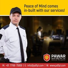 Peace of Mind comes in-built with our services! #SecurityServices #SecurityGuards #SafeFamily #Safety #Security #punesecurityservice #bestsecurityserviceinpune