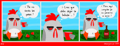 """""""Martes de Recalentado"""" presenta Gallopingüino No. 61 !!! Porque somos bien prácticos !!! #GallopinguinoQuotes facebook.com/gallopinguino"""