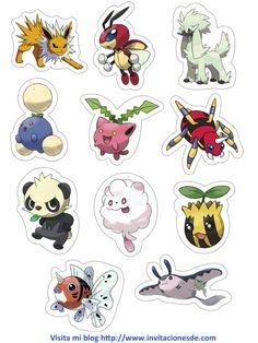 Imágenes de Pokemon Go para tus invitaciones y juegos http://www.invitacionesde.com/invitaciones-de-cumpleanos/imagenes-de-pokemon-go/
