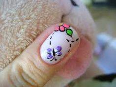 Resultado de imagen para diseños para uñas cortas