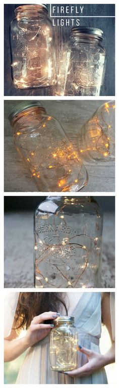 Whimsical fairy lights for your rustic wedding décor. Make your wedding tables more captivating! Grab your best gals and create your DIY centerpieces together. Enjoy our copper wire or silver wire lights. Add them to mason jars, vases, terrariums or wrap flowers, branches to add that sparkle!
