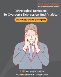 Common Mental Disorders, Vedic Astrology, Depression, Anxiety, Remedies, Life, Home Remedies, Stress