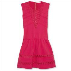 Maje viscose, polyamide and elastane dress