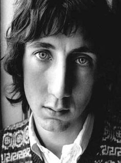 """I was born with a plastic spoon in my mouth."" • Pete Townsend"